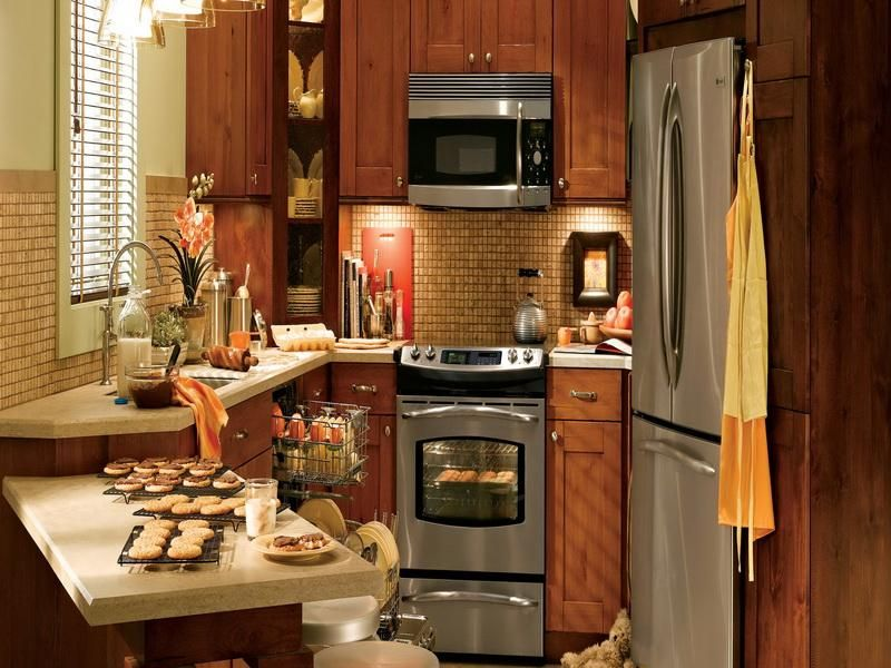 Cool Tiny Kitchen Remodels #tinykitchens