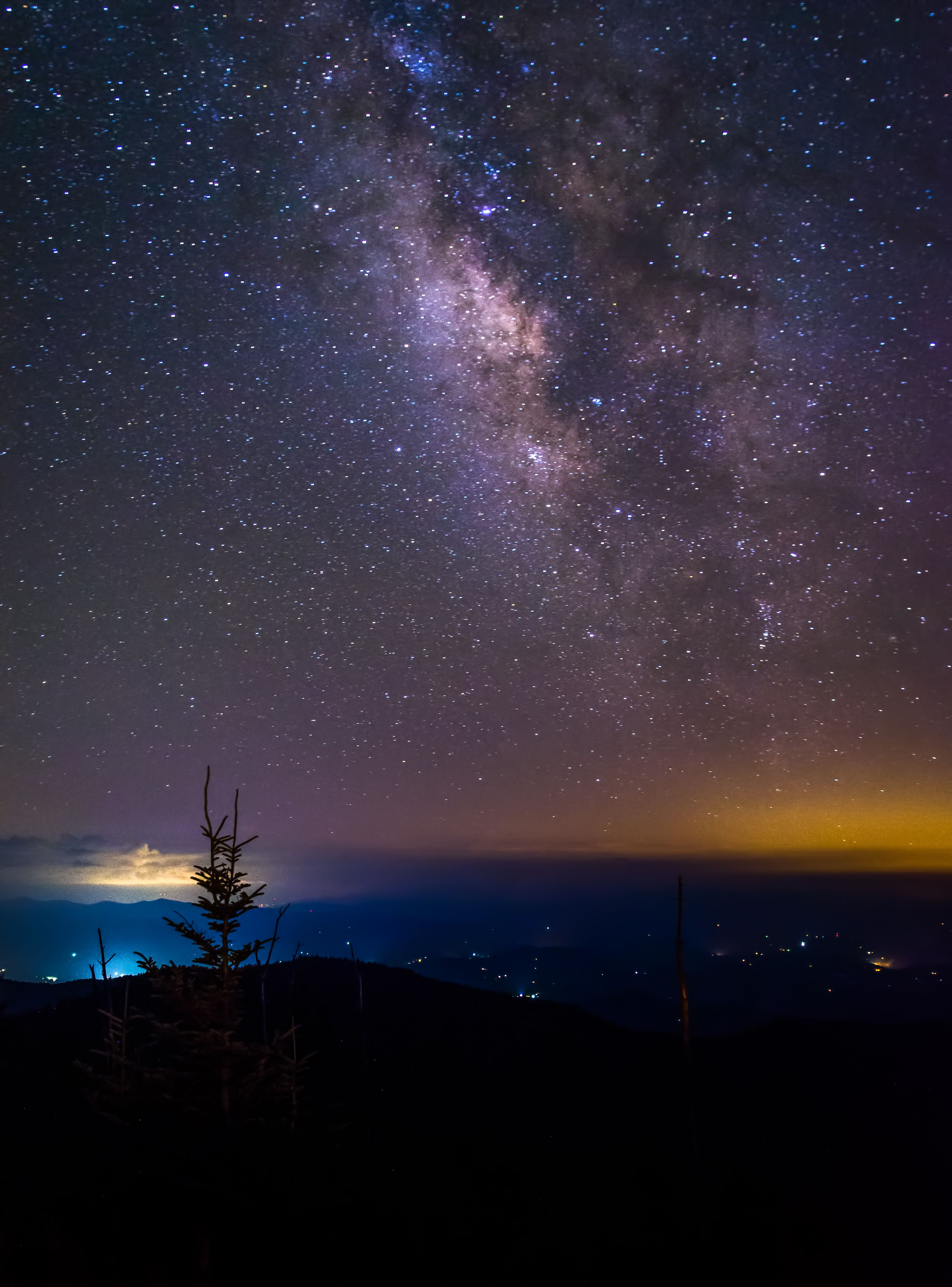 The Beautiful Stars Above Clingmans Dome Great Smoky