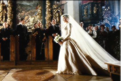 Maria Von Trapp Wedding Dress Movie Wedding Dresses Wedding Movies Sound Of Music Costumes
