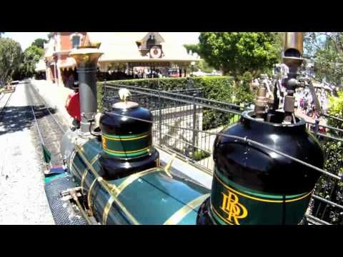 A Unique Point of View: E.P. Ripley-I love riding the trains at Disneyland!
