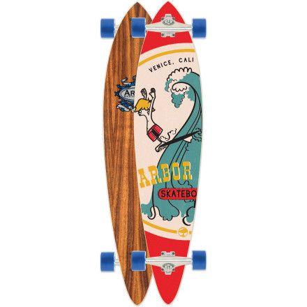 ArborFish Koa Longboard