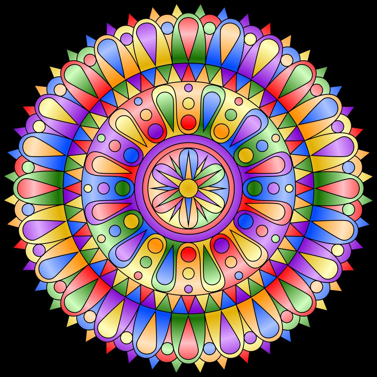 New Mandala Coloring Page Mandala Coloring Pages Mandala