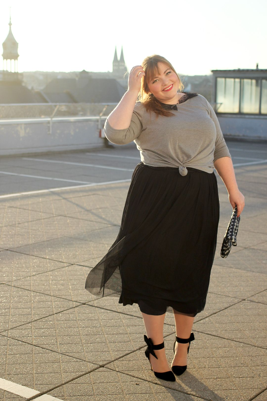 Party Outfit Für Mollige Zwei Weihnachtsoutfits Mit Happy Size Kathastrophal