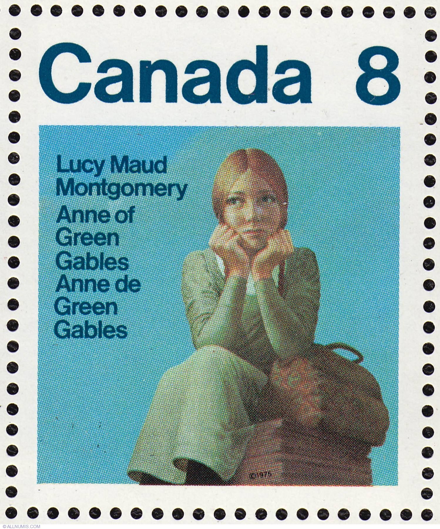 Canada Stamp 658 Lucy Maud Montgomery 1975 8 In 2020 With
