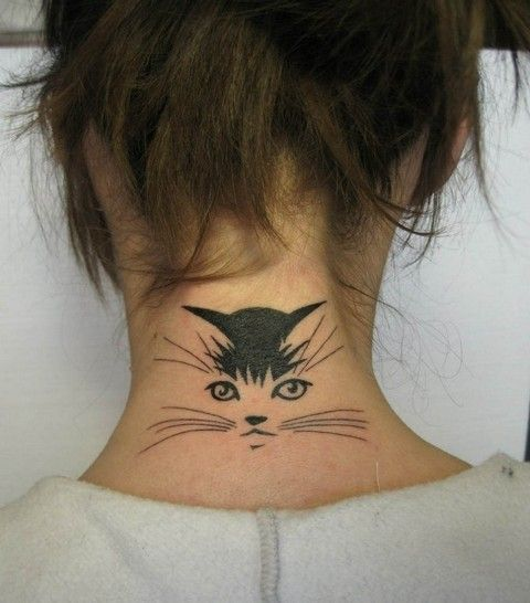 Back Of Neck Tattoos 605 Jpg Tattoo Hals Katzentattoos Nacken