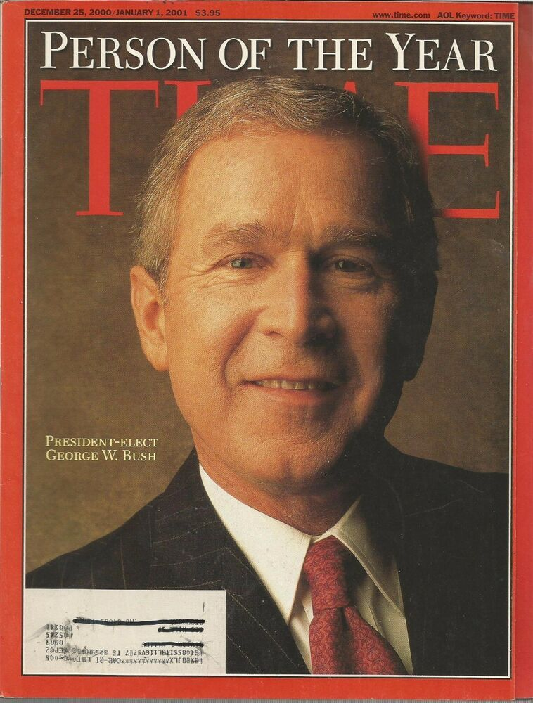 Time Magazine - Dec 25, 2000/January 1, 2001 - George W. Bush Person of the Year