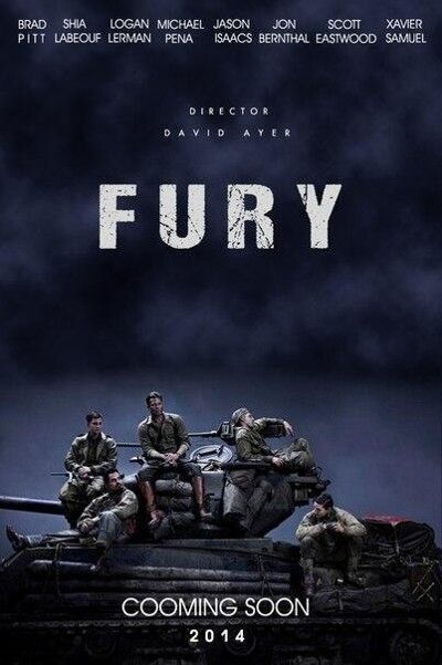 Brad Pitt's First 'Fury' Footage Does Anything But Tank at