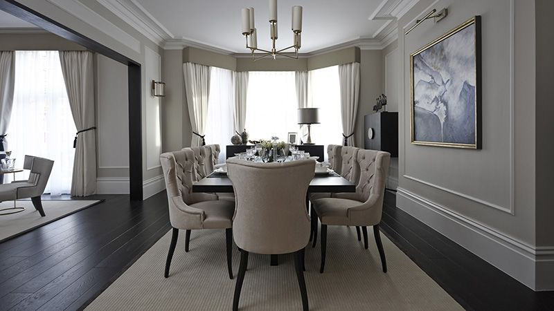 Boscolo High End Luxury Interior Designers In London Elegant Dining Room Luxury Dinning Room Dining Room Lamps