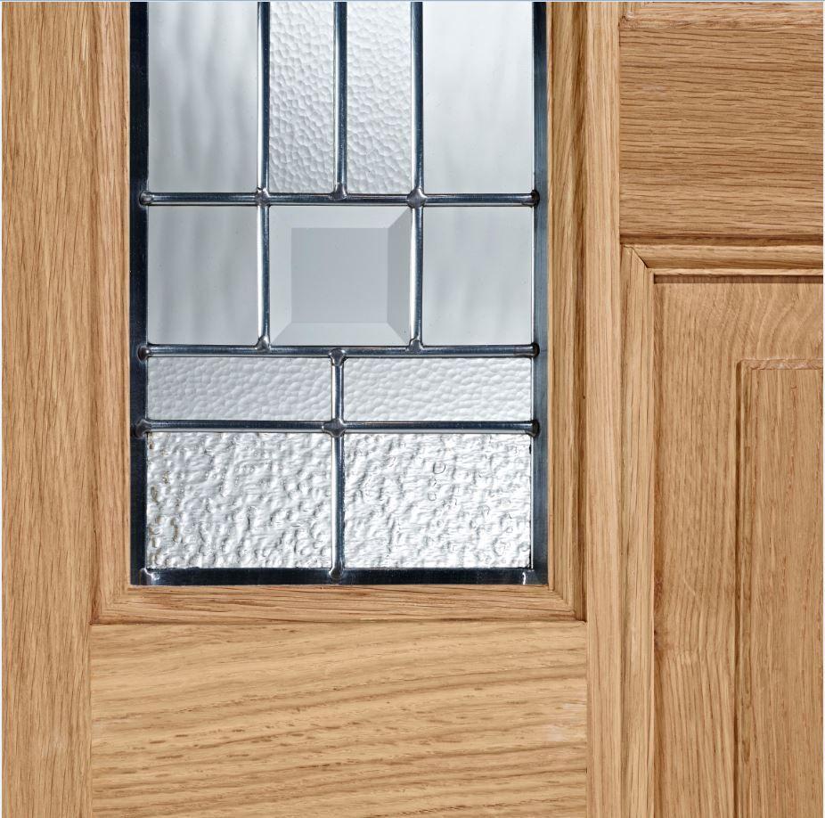 External Door Oak Coventry with Zinc Lead double glazed & External Door Oak Coventry with Zinc Lead double glazed | doors ...