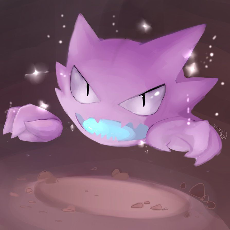 Shiny Haunter Pokemon Paintings For Cadyn Pinterest Pokémon