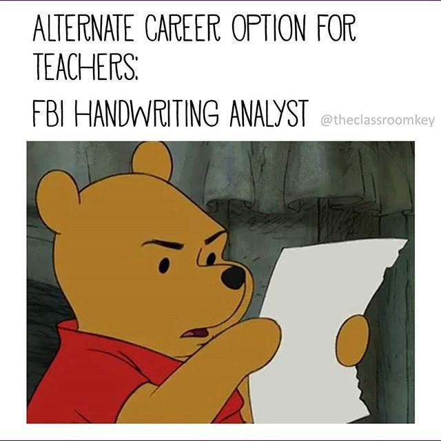 Funny Meme For Teachers : In case you were considering other career options
