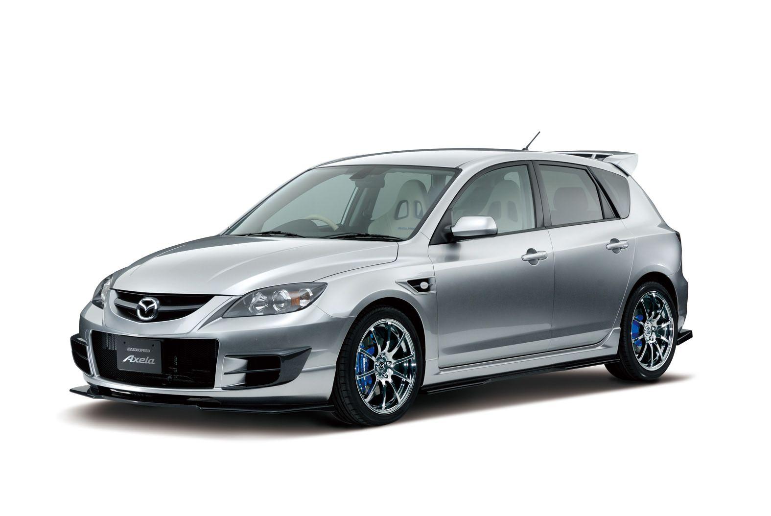 Mazdaspeed Axela concept. 2007.