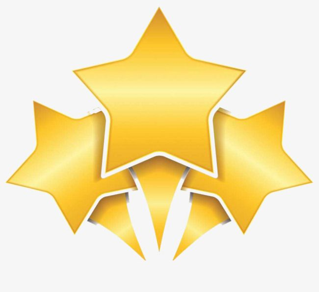 Golden Three Five Stars Golden Five Star Radial Png And Vector With Transparent Background For Free Download Star Designs Design Elements Banner Design