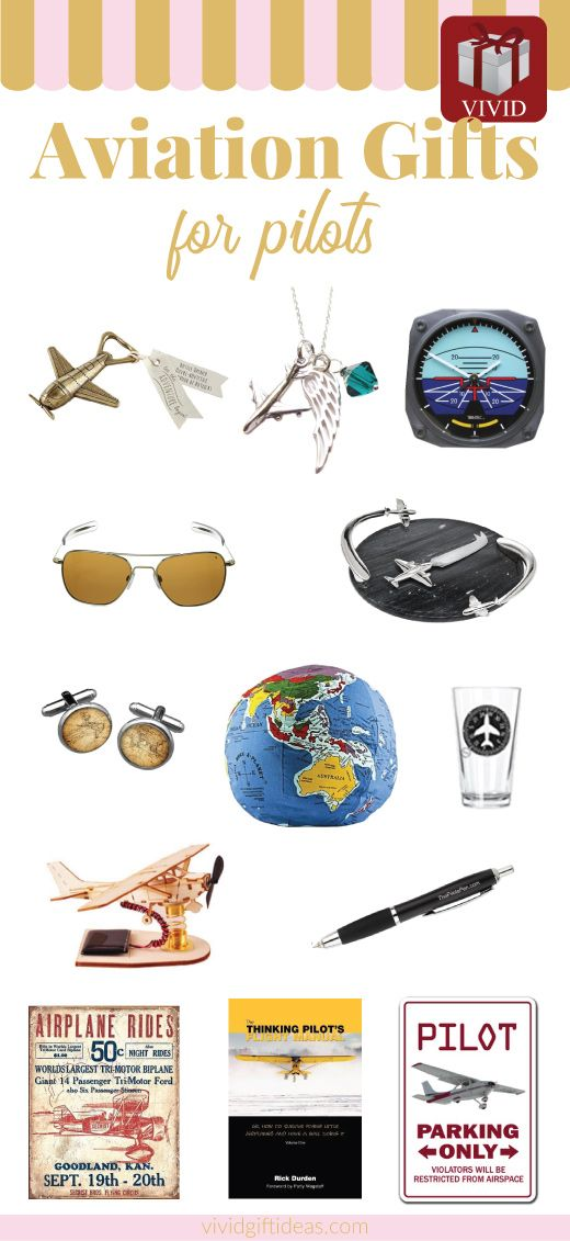 Unique Gift Ideas for People Who Like Aviation. Aviation themed decor and more. Vintage distressed tin signs, cool aviator sunglasses / glasses.