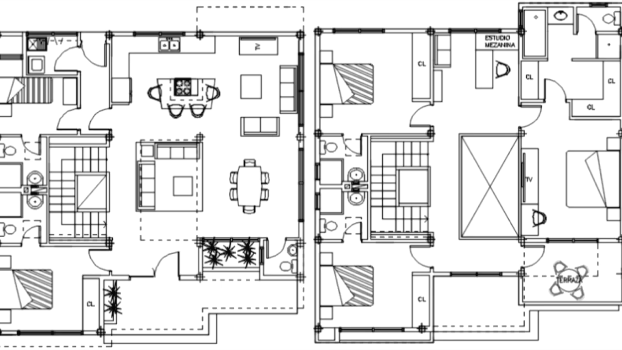 Office Layout Discover Creative Bungalow Designs Cadbull Files In 2020 Bungalow Design Bungalow Square House Plans