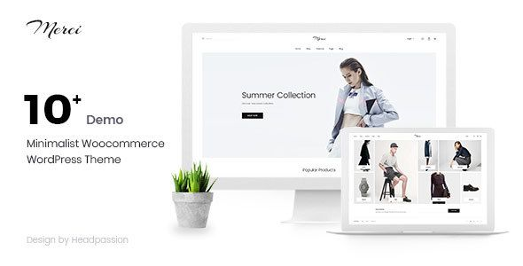 Merci - Minimalist Woocommerce #WordPress Theme - WooCommerce ...