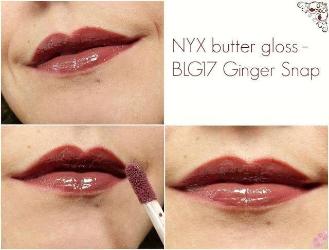 Tiamel Lips Nyx Butter Gloss Blg17 Ginger Snap Biscuit Au