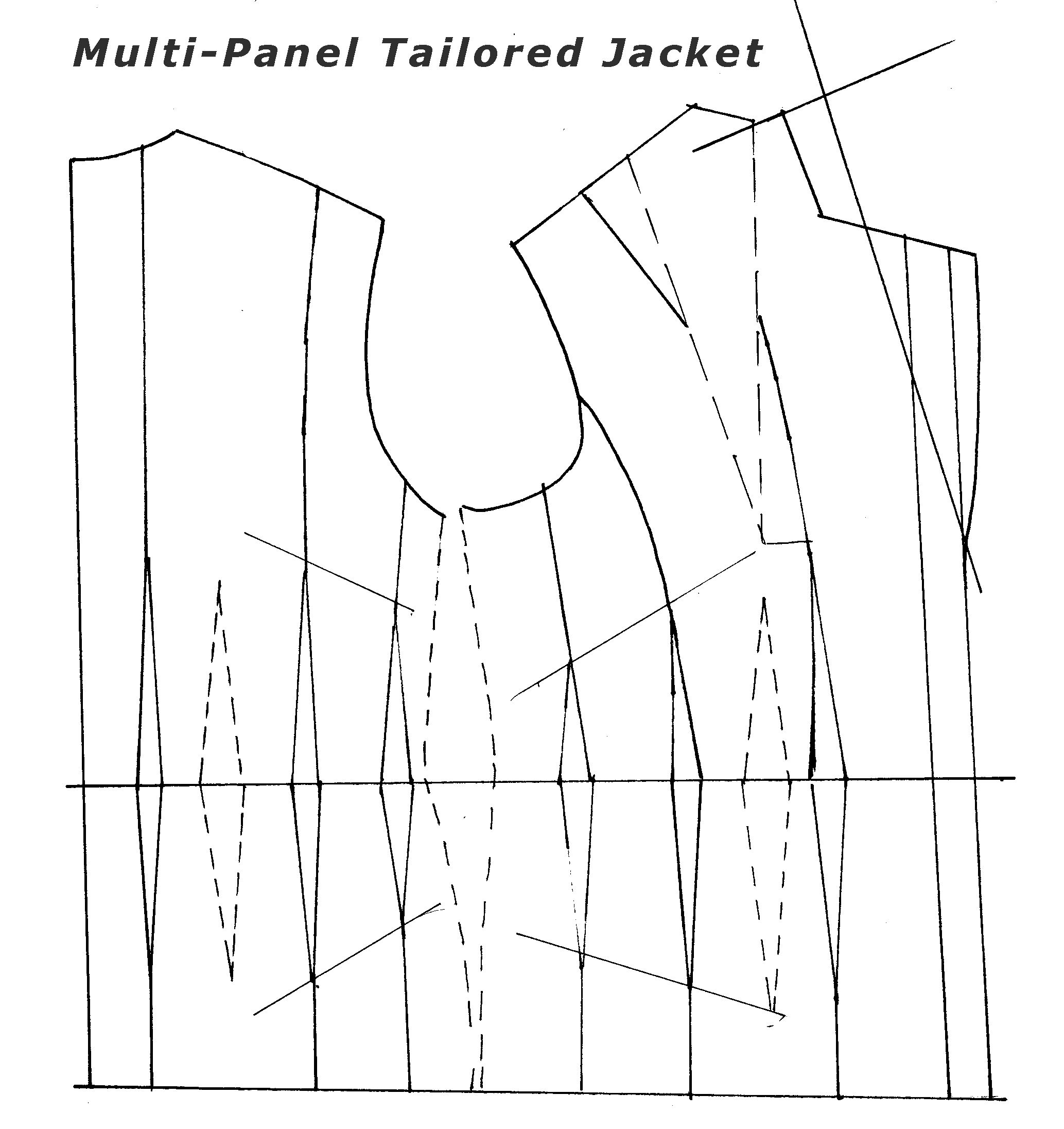 Great industry training for tailored jacket patterns. Join us ...