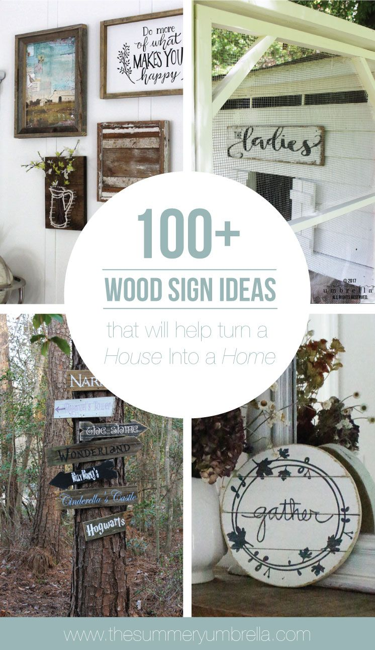 How To Include Taxidermy Into Trendy Home Decor: 100+ Wood Sign Ideas That Will Help Turn A House Into A Home