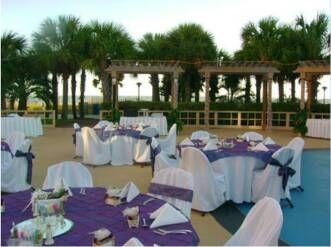 Beach Wedding Ceremony Breakers Pool Deck Kingston Plantation Myrtle SC