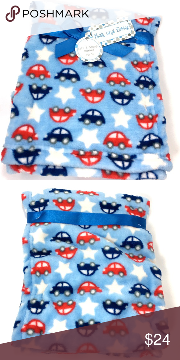 New Zak And Zoey Cars Stars Baby Blanket Zak And Zoey Baby