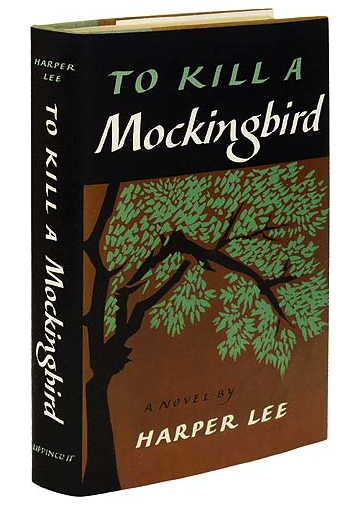 To Kill a Mockingbird. 1960. book design vintage