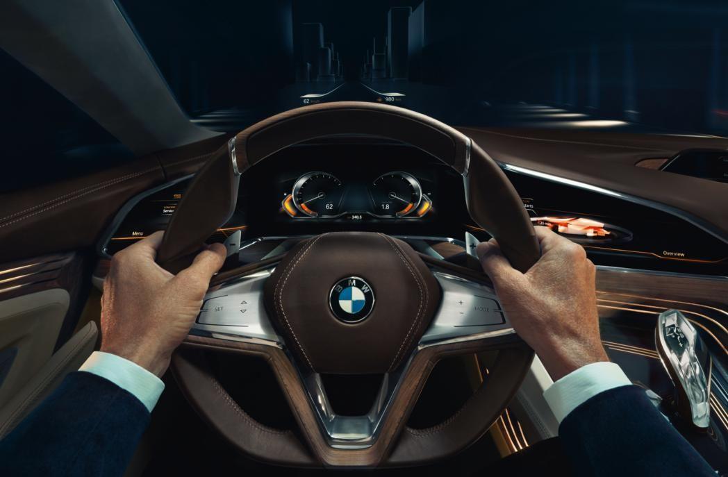 Toekomstige 9-serie: BMW Vision Future Luxury