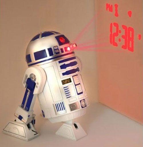 50 Epic Christmas Gift Ideas R2 d2, Alarm clocks and Clocks