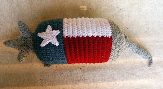 Lone Star Armadillo Crochet Pattern by WolfDreamerOTH on Etsy, $4.00 ...