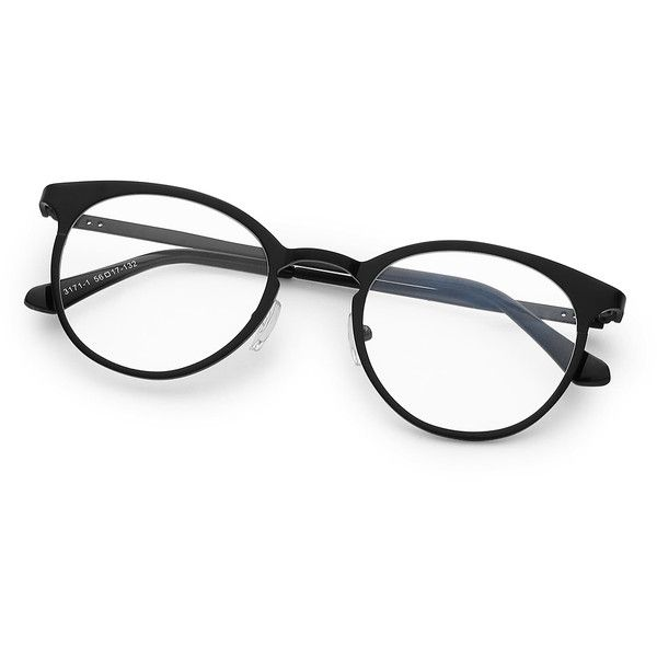 45d4c295cb Contrast Frame Tinted Lens Glasses (47 NOK) ❤ liked on Polyvore featuring  accessories