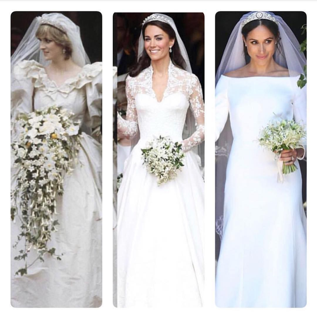 Royal Brides In 1981 Princess Diana Wore An Iconic Gown Designed By David Emanuel That Became The Be Royal Wedding Dress Princess Diana Wedding Royal Brides
