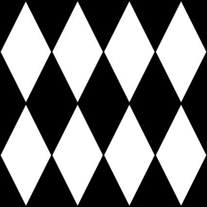 Diamond Harlequin 1 Pattern clip art vector, free vector images - Vector.me