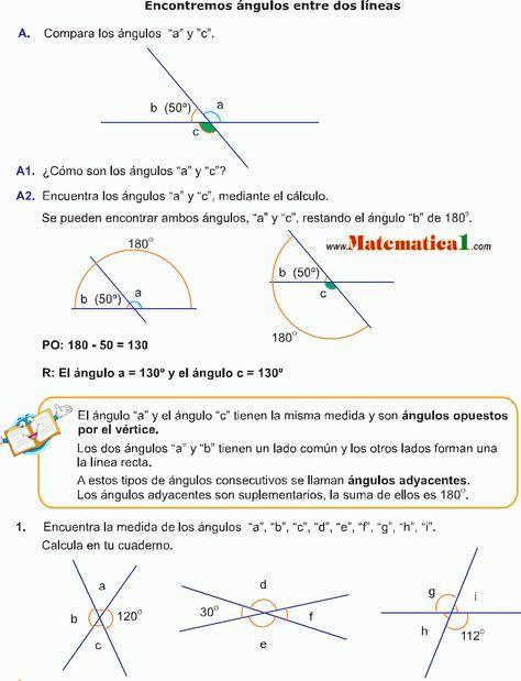 Dorable ángulos Adyacentes Hoja Pdf Motivo - hojas de trabajo ...