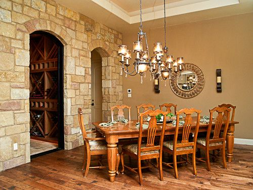 Traditional Dining Room Accent Wall Design, Pictures, Remodel, Decor And  Ideas