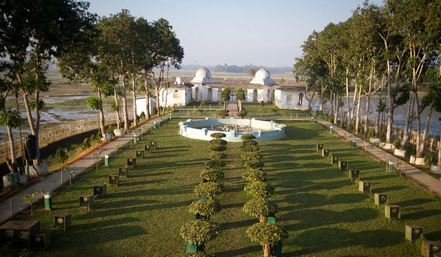 Neermahal in Tripura is one of the best amalgamations of Hindu Muslim architecture. http://rasoitours.in/