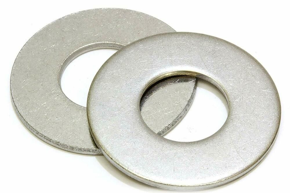Flat Washers 3 8 5 8 1 2 High Quality Stainless Steel 20 50 100 Pack Flat Washer Stainless Ebay