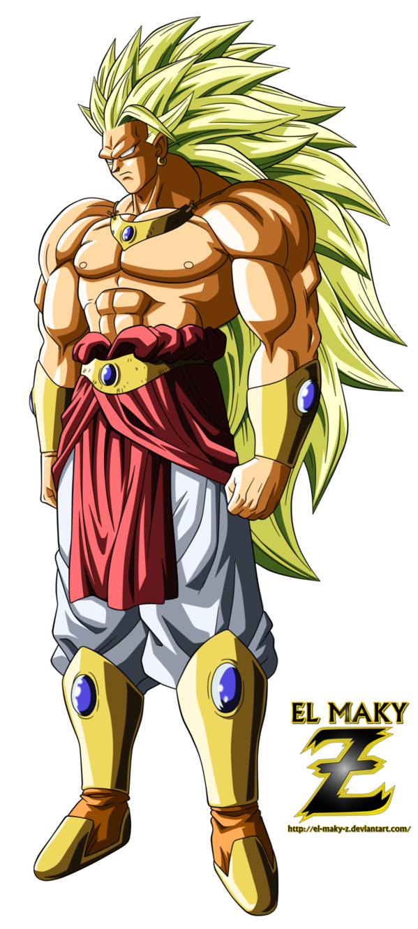 That's the legendary super saiyan Broly One of the ...