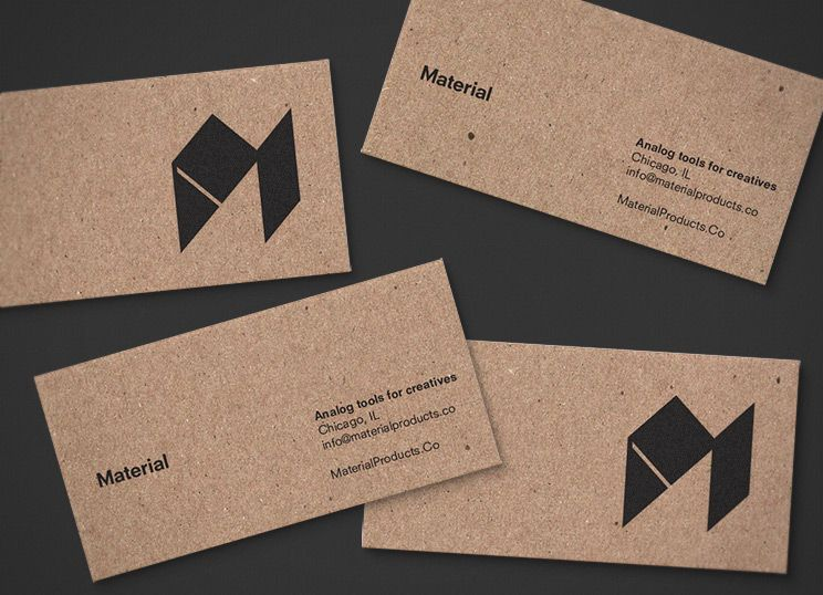 material business cards graphics pinterest business