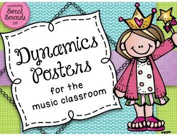 Dynamics Posters Set 2 {Word Wall}