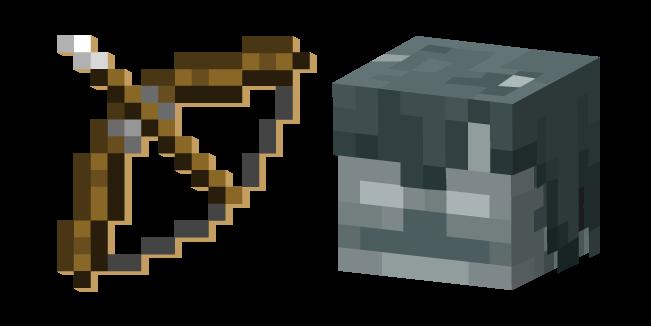 Minecraft Bow And Stray Minecraft Pixel Art Minecraft Pixel Art