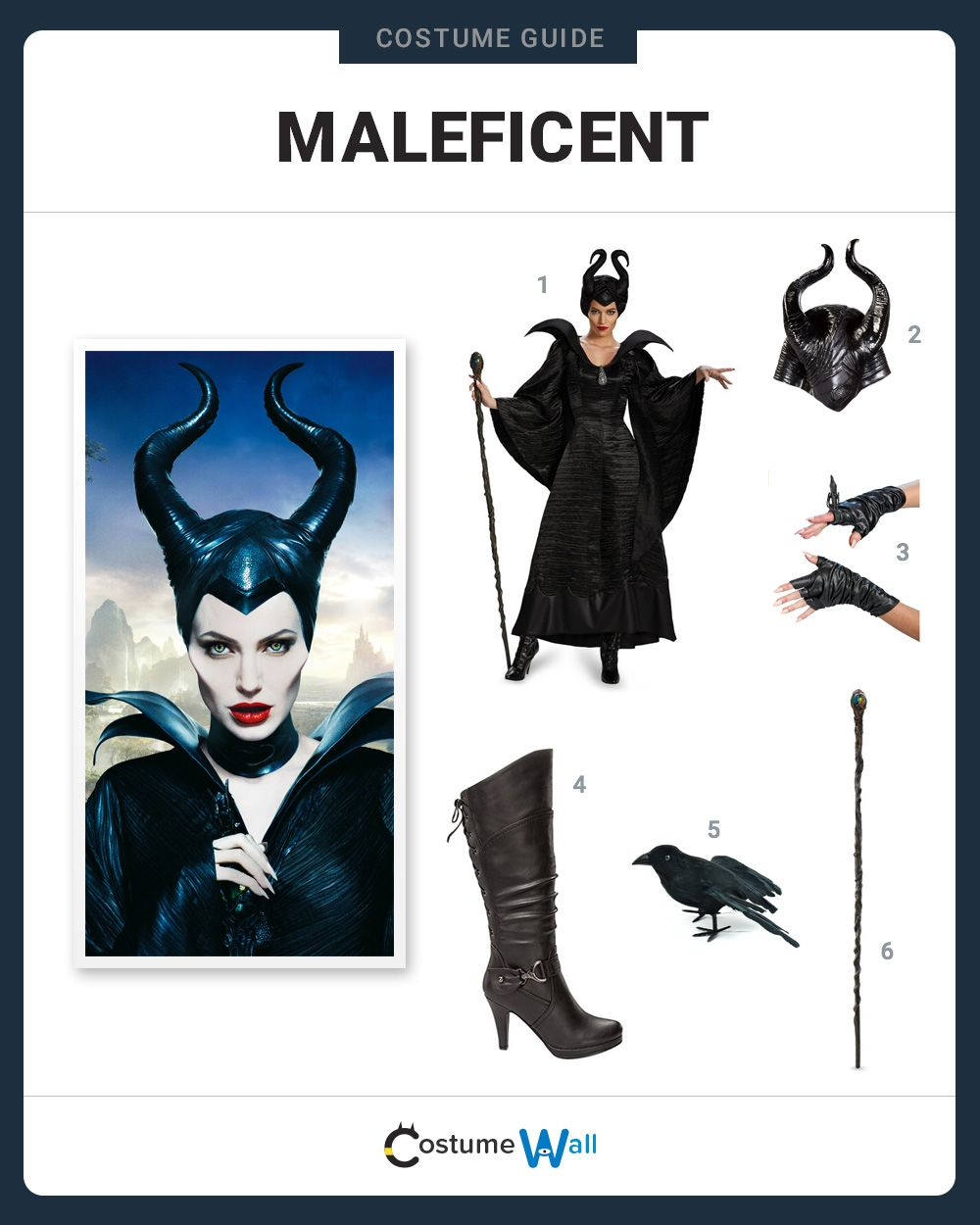 Dress Like Maleficent Costume And Cosplay Guides