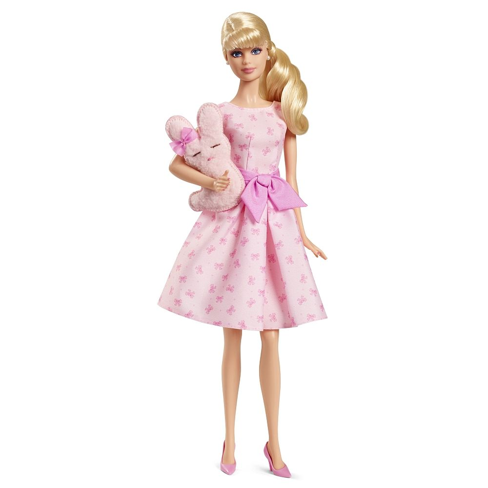 Barbie Its A Girl Puppe Mit Hase Mattel Toysrus Barbie