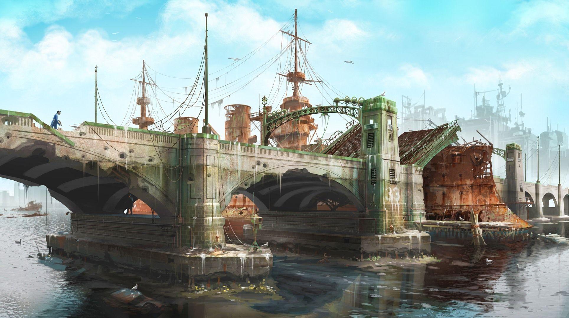 New Fallout  Concept Art Revealed Fallout  Concept Art