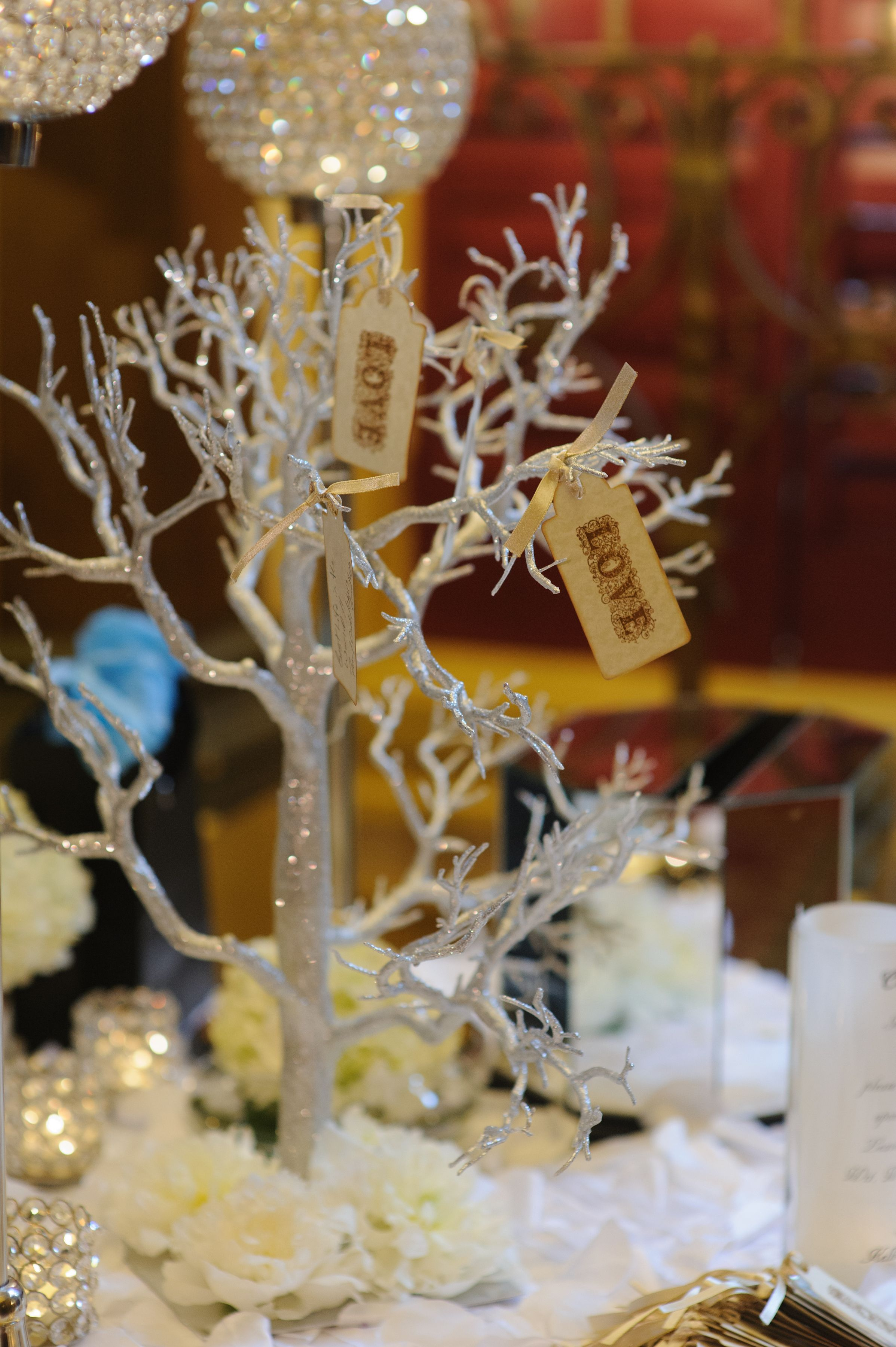 Boca By Design A Sparkly Tree Branch Centerpiece Perfect For