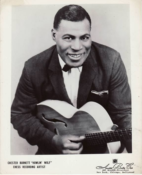 Howlin Wolf Official Picture Chess Records 1954 Howlin Wolf Blues Artists Blues Musicians