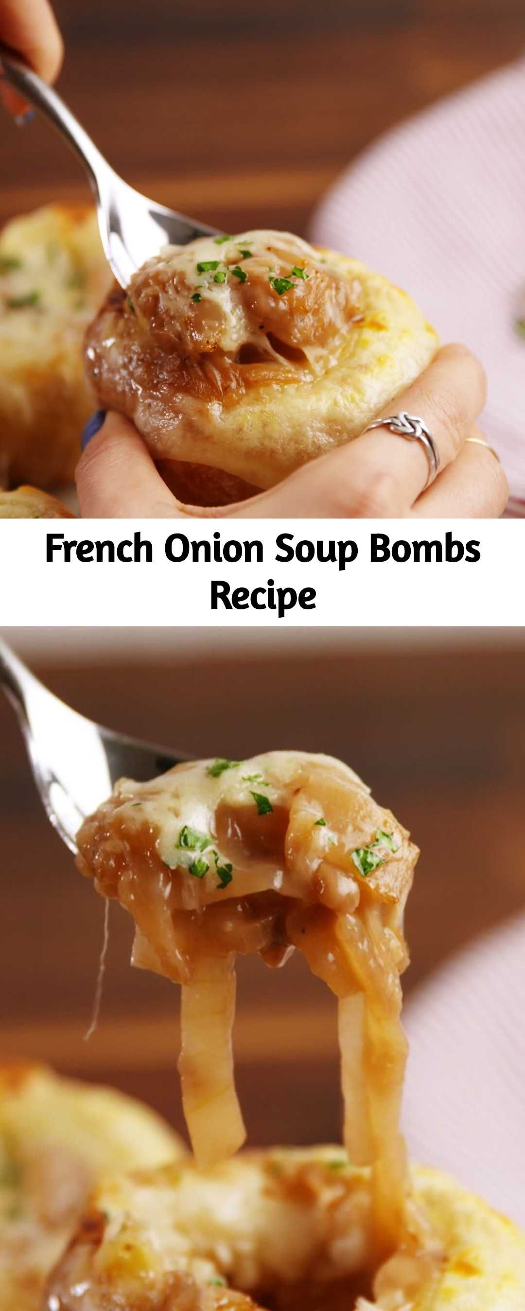 French Onion Soup Bombs Recipe - Mom Secret Ingredients ...