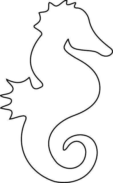 free image on pixabay seahorse ocean fish animal schablone steinsammlung und seepferd. Black Bedroom Furniture Sets. Home Design Ideas