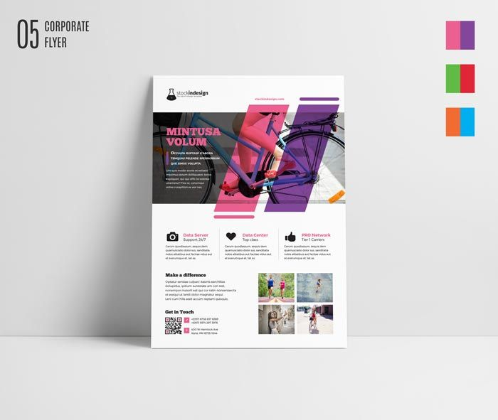 Free Corporate Flyer Template Printmagazine Ads Pinterest