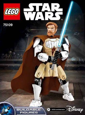 Brand New Obi-Wan Kenobi LEGO Star Wars 75109