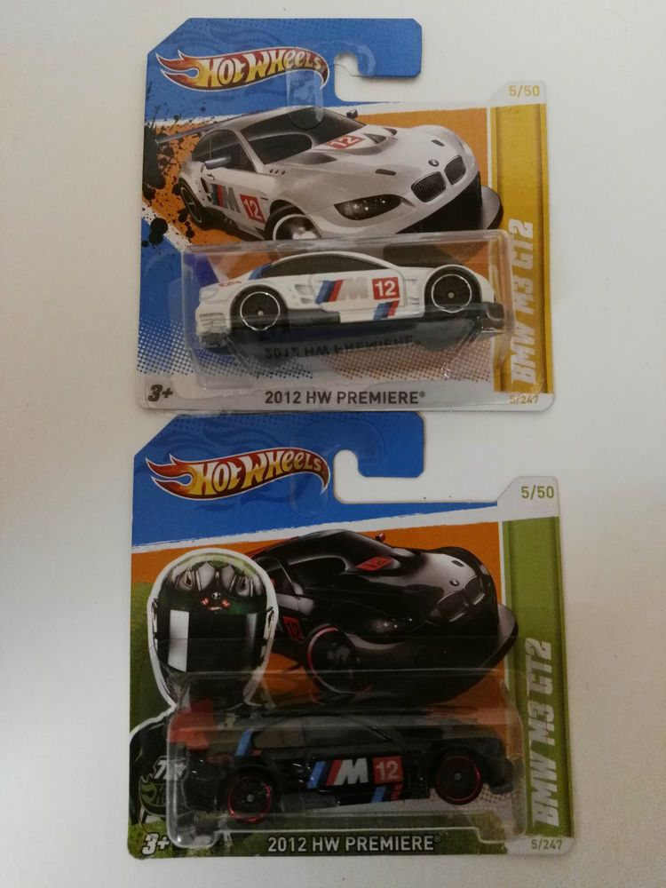 Hot Wheels BMW M3 GT2  Black&White ---Top Raritäten---  | eBay